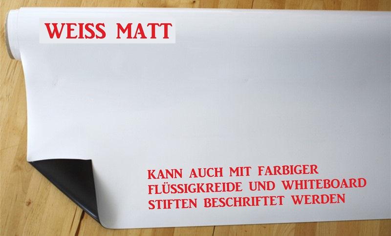 Magnet Folie Weiss Matt