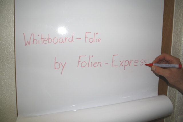 Whiteboard Folie Weiss