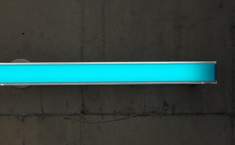 Lampenfolie in Blau