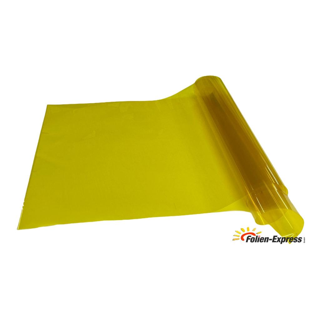 Lampenfolie Gelb