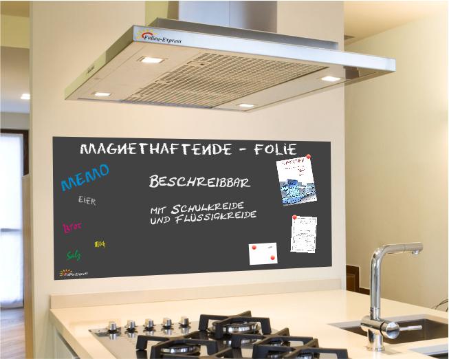 Magnetfolie in Schwarz