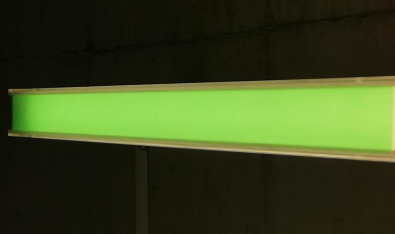 Lampenfolie in Grün