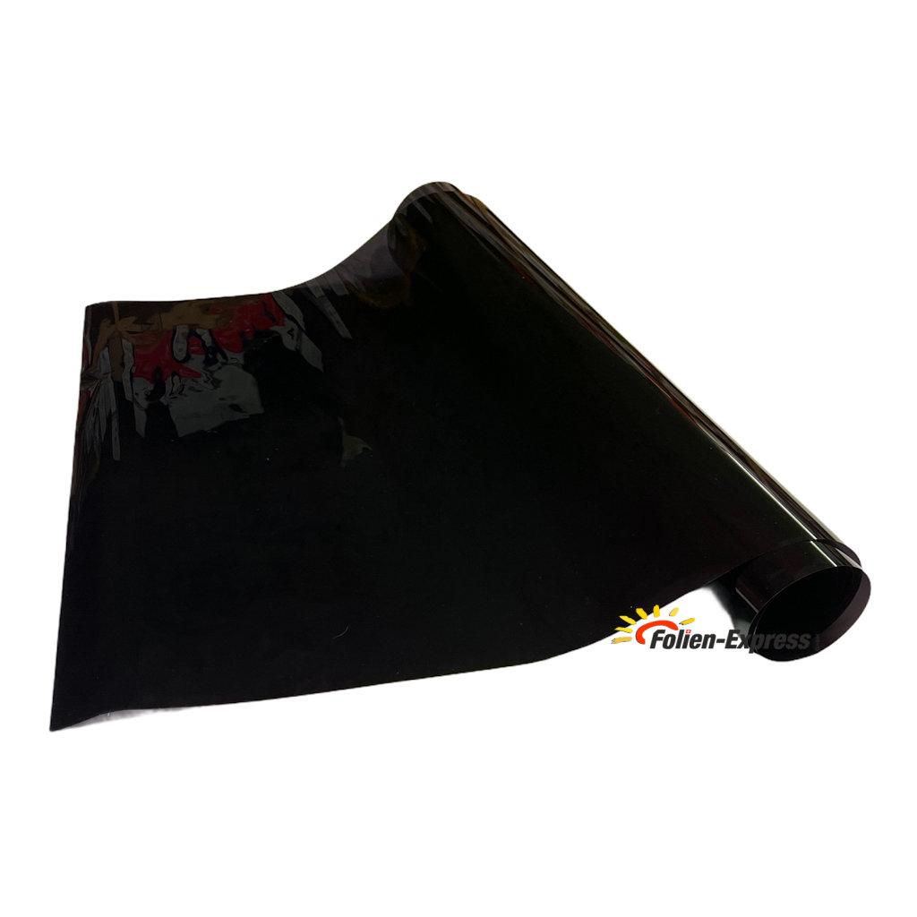Lampenfolie Schwarz extra dunkel