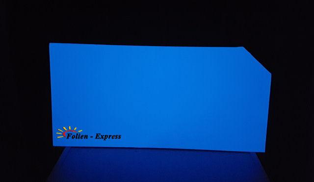 Sichtschutzfolie Nachtleuchtend Blau
