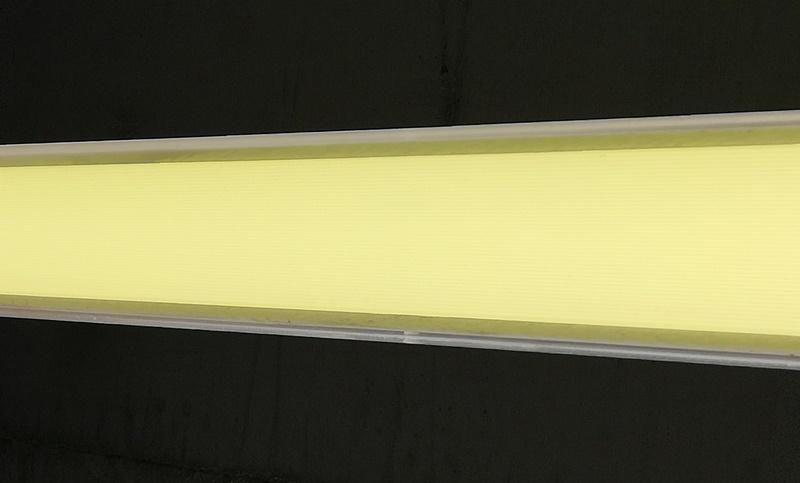 Lampenfolie in Gelb