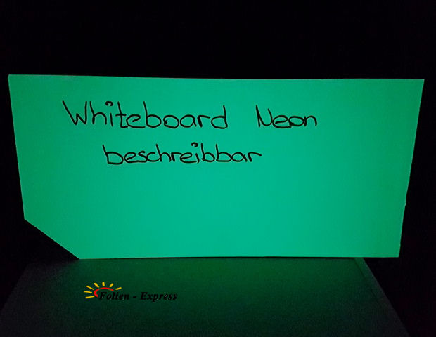 Whiteboard Folie Neon