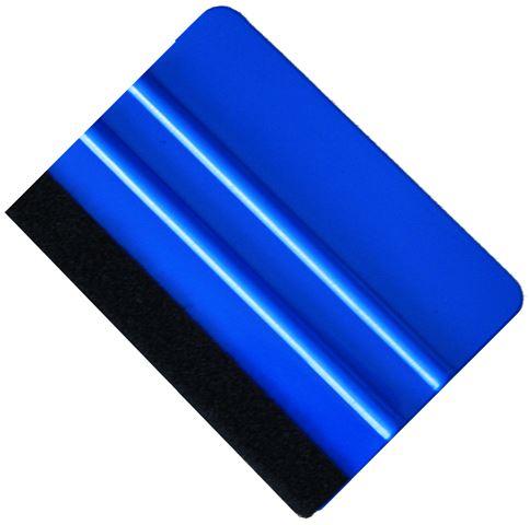 Plastik Rakel Blau