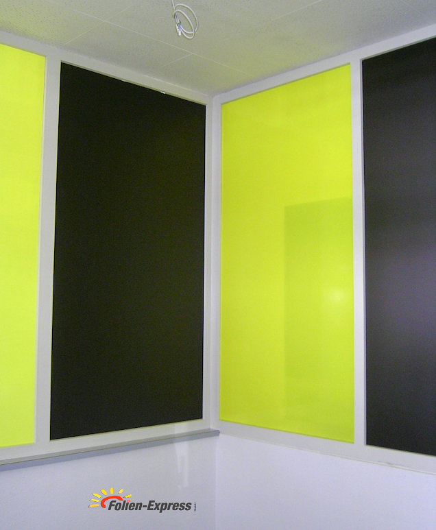 Farbfolie Schwarz Glanz / Matt