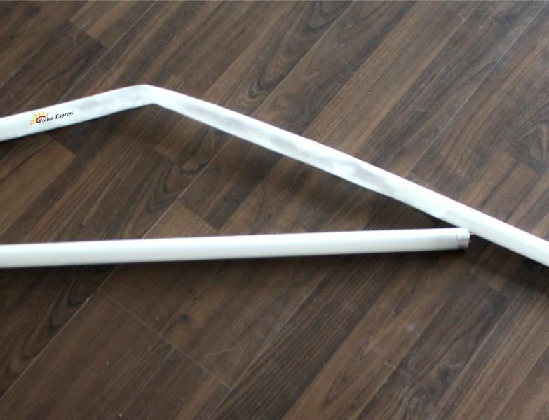 Splitterschutzfolie für Leuchtstoffröhren