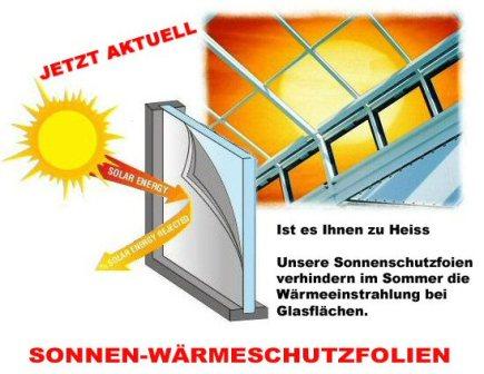 Sonnenschutz Flyer