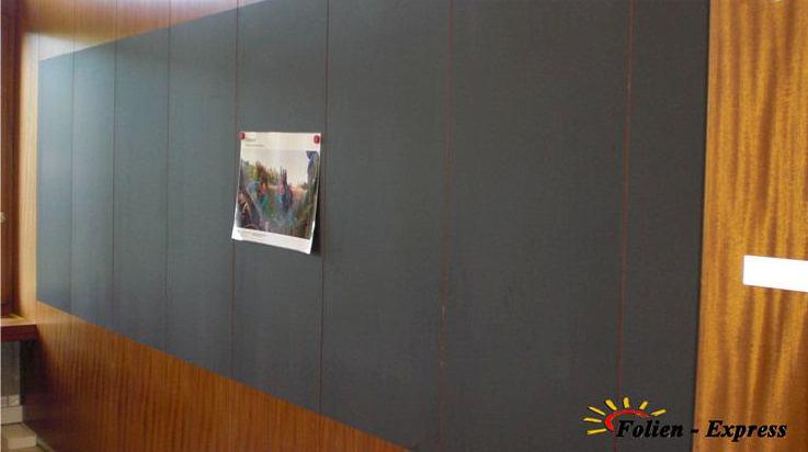 Whiteboard Folie in Schwarz